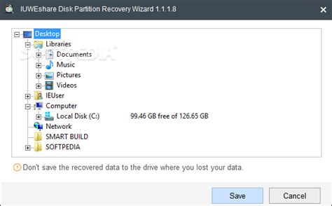 Download IUWEshare Disk Partition Recovery Wizard 7