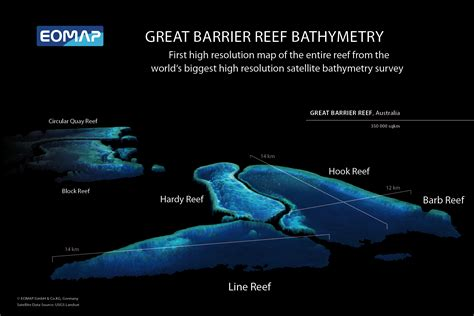 First 3D topography of Great Barrier Reef derived from EO