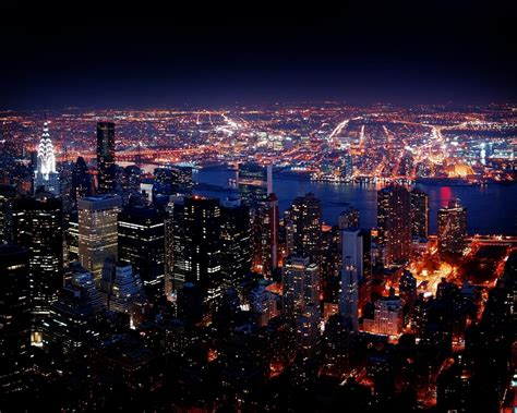 New York City Night View Hd Wallpaper 5789 : Wallpapers13