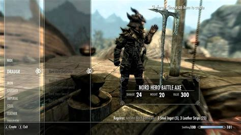TES V: Skyrim Nord Hero Weapons - YouTube