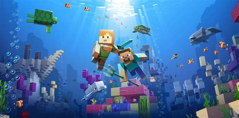 Minecraft's Update Aquatic Introduces a Whole New