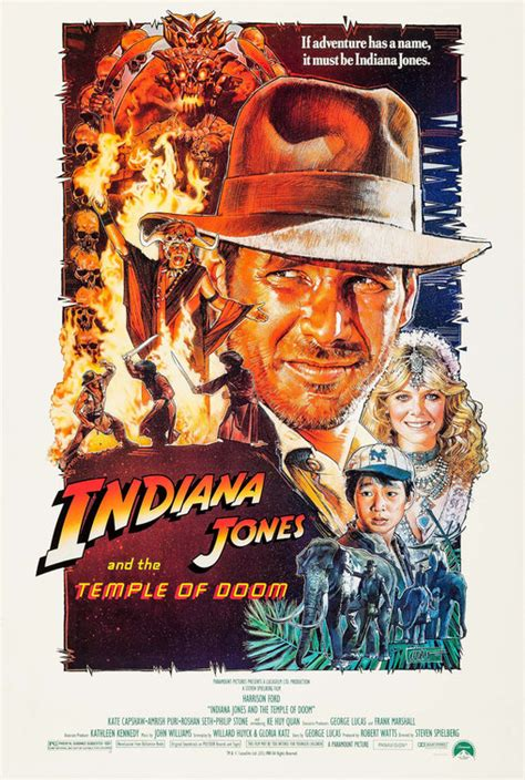 Indiana Jones and the Temple of Doom Movie Poster (#3 of