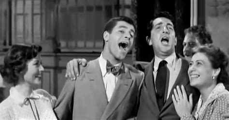 """Laugh and smile as Dean Martin & Jerry Lewis sing """"That's"""