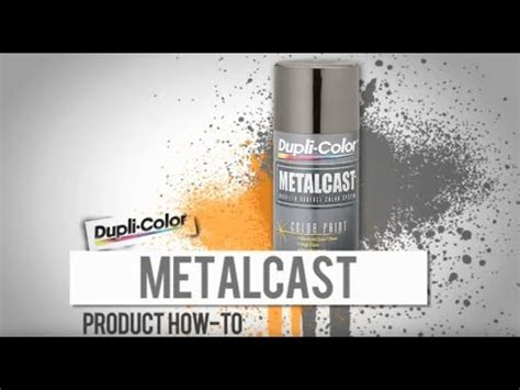 Metalcast Paint How-To by Dupli-Color - YouTube