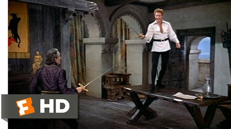 The Court Jester (9/9) Movie CLIP - Crossing Blades with