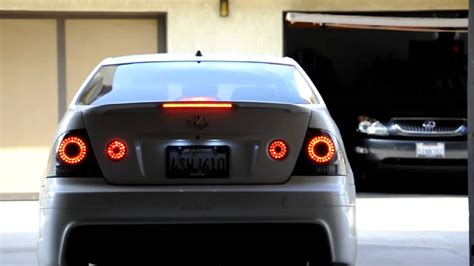 MMSport LED Taillights - Lexus IS300 - YouTube