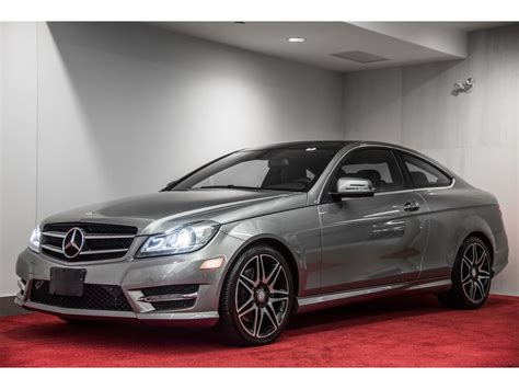 Pre-owned 2015 Mercedes-Benz C-Class C350 4MATIC COUPE