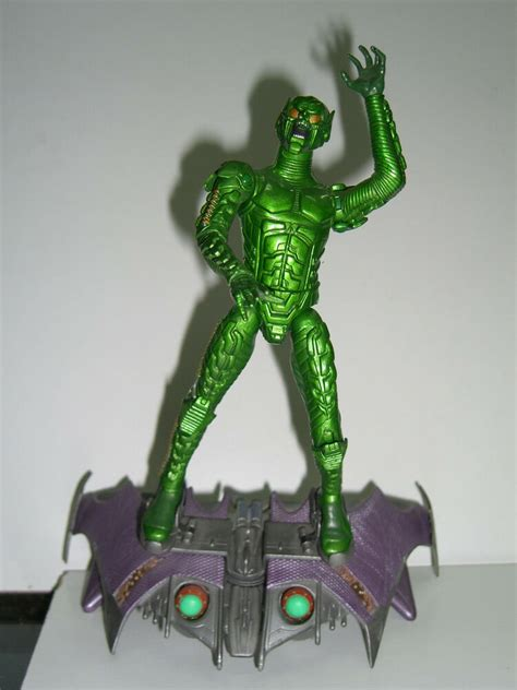MARVEL LEGENDS SANDMAN SERIES MOVIE GREEN GOBLIN COMPLETE