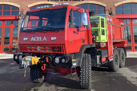 Acela Truck Company Expands into WUI Fire Truck Market