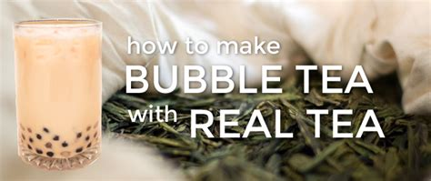 How to Make Bubble Tea with Real Tea – Fanale Drinks