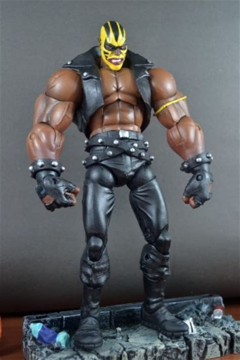 this is a marvel legends Rage Custom Action Figure he was