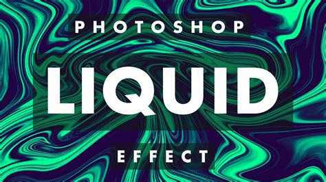 Liquid Effect Tutorial | Adobe Photoshop - YouTube