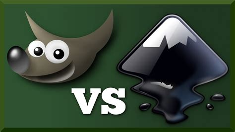 GIMP vs Inkscape : Differences and Uses - YouTube