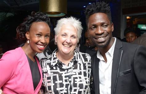 PHOTO: Bobi Wine and his wife hang out with US Ambassador