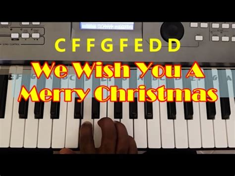 How To Play We Wish You A Merry Christmas