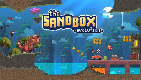 The Sandbox Evolution - Craft a 2D Pixel Universe! Free