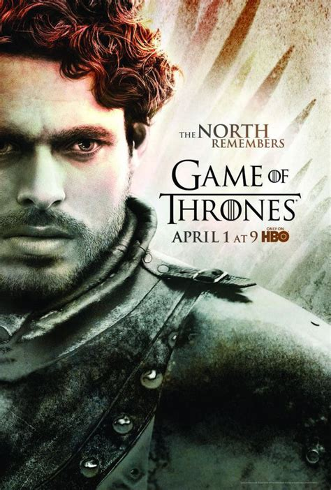 Season 2- Poster- Robb Stark - Game of Thrones Photo