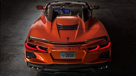 2020 Chevrolet Corvette Stingray Convertible Z51 4K