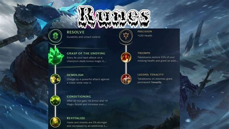 Runas Reforjadas - Trundle - YouTube