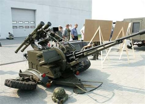 The ZU-23 (2A13) Twin Anti-Aircraft Artillery Gun