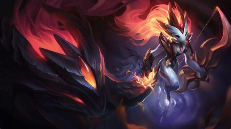 Shadowfire Kindred | LoLWallpapers