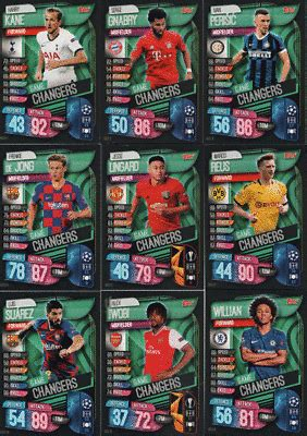 Match Attax 19/20 Champions / Europa League - Exclusive