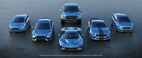 Ford Performance Lineup Poised for a Big Yearby, American