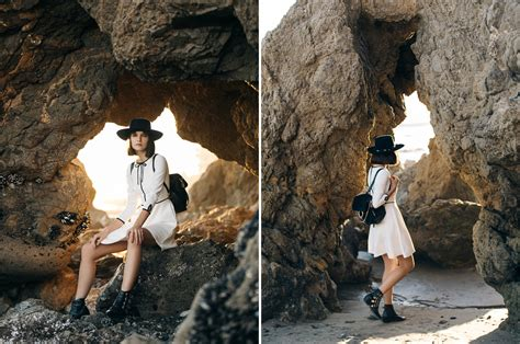 El Matador Beach, Malibu - Ted Baker cowboy outfit and