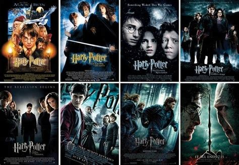 Where can I see all of the Harry Potter movies for free