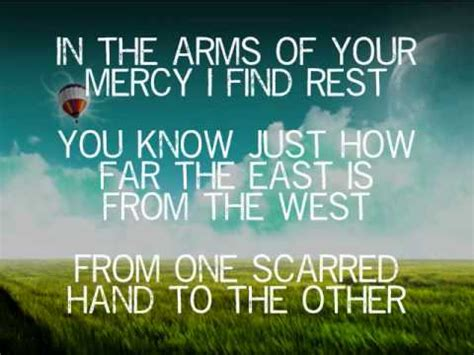 East To West - Casting Crowns (Music Video With Lyrics