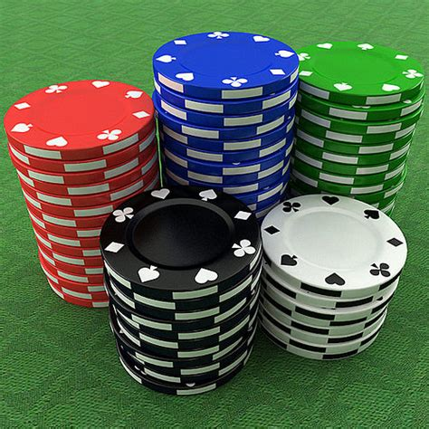3D Casino Poker Chips | CGTrader