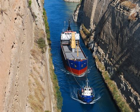 Corinth Canal | The Corinth Canal is a canal that connects