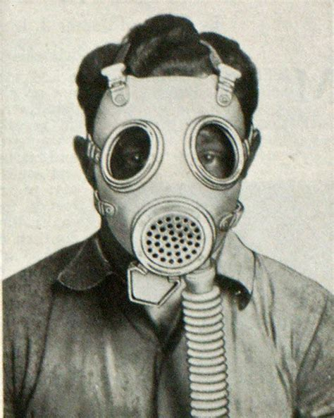 Gas Masks With Speaking Diaphragm - Fire Engineering