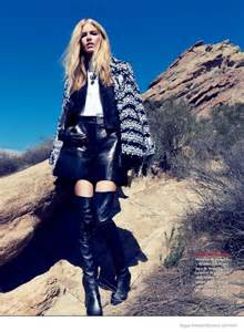 Texas Cowgirl: Louise Parker by Stockton Johnson for Vogue