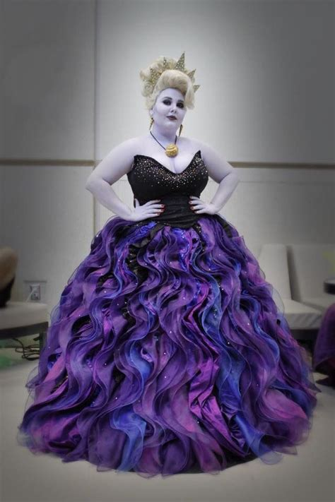 Stunning costume work for little mermaid witch Ursula