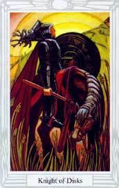 Korongok Lovagja :: Crowley Tarot