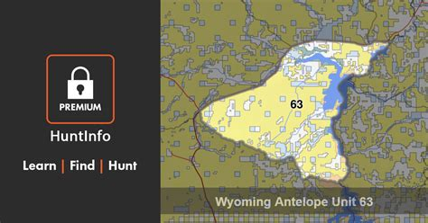 Wyoming Antelope Hunting Unit 63 | HuntInfo