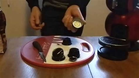 comment fabriquer une capsule DOLCE GUSTO ? FR - YouTube