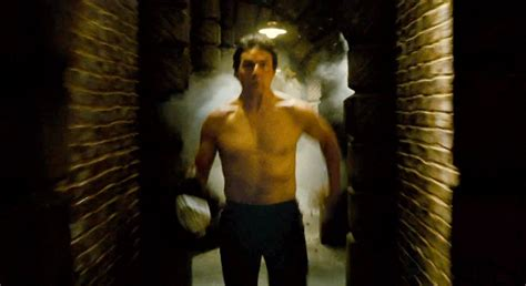 Tom Cruise Goes Shirtless, Runs for His Life in New