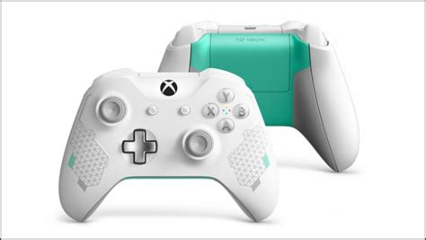 Xbox One Sport White Controller Revealed - Gameranx