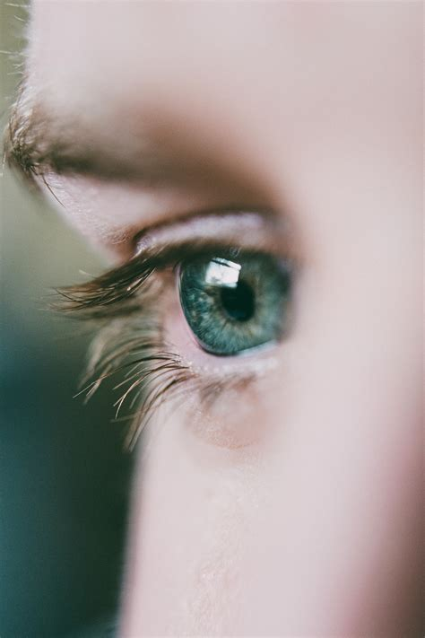Close-Up View Of A Person's Eye · Free Stock Photo