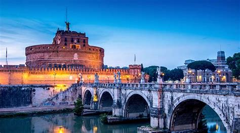 Castel St Angelo - Save with OMNIA Vatican and Rome