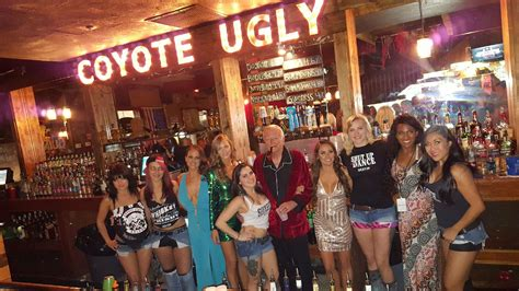 Hefner a Judge in Destin Contest – Coyote Ugly Saloon