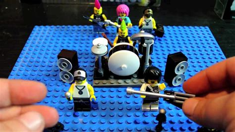 Lego Rock Band Minifigure Accessory Kit Review - YouTube