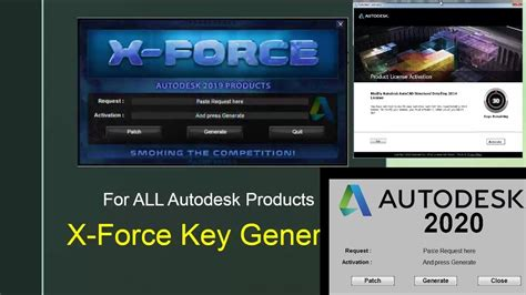 X-force Key Generator: How to Activate Autodesk Products 2020,