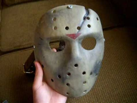Jason X mask - YouTube