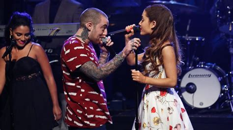 Ariana Grande and Mac Miller Heat Up Rumors That They're