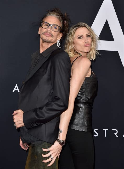 Steven Tyler Packs on PDA With Younger Girlfriend at