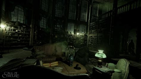 Call of Cthulhu's creepy mansion gives Resident Evil a run