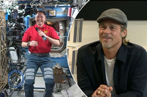 Brad Pitt chats with NASA astronaut about 'Ad Astra'